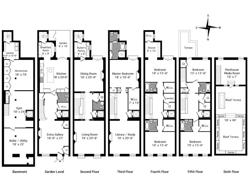 Nyc Townhouse Floor Plans: 26 East 73rd Street, New York NY Townhouse