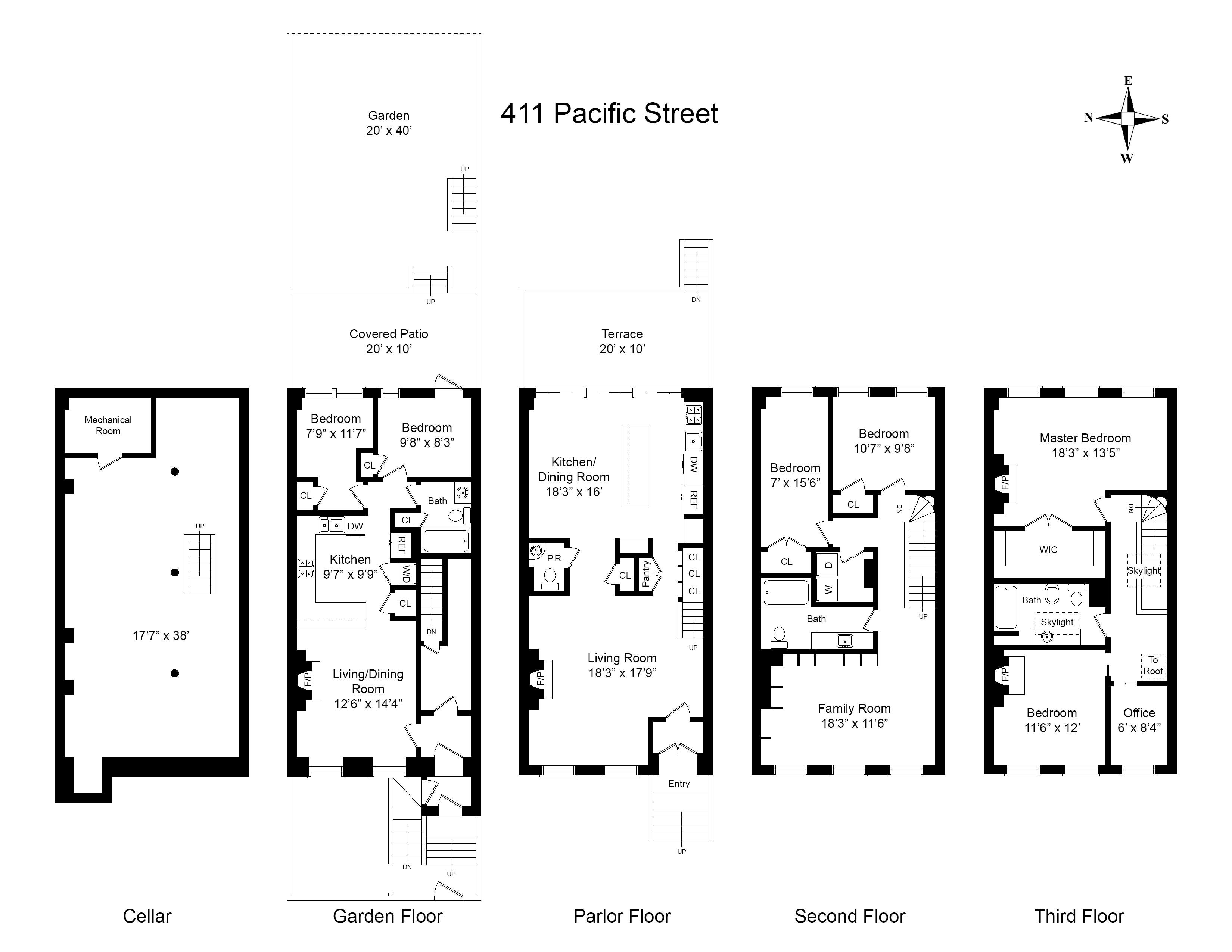 411 pacific street brooklyn ny 11217 sotheby 39 s for 123 william street 3rd floor new york ny 10038