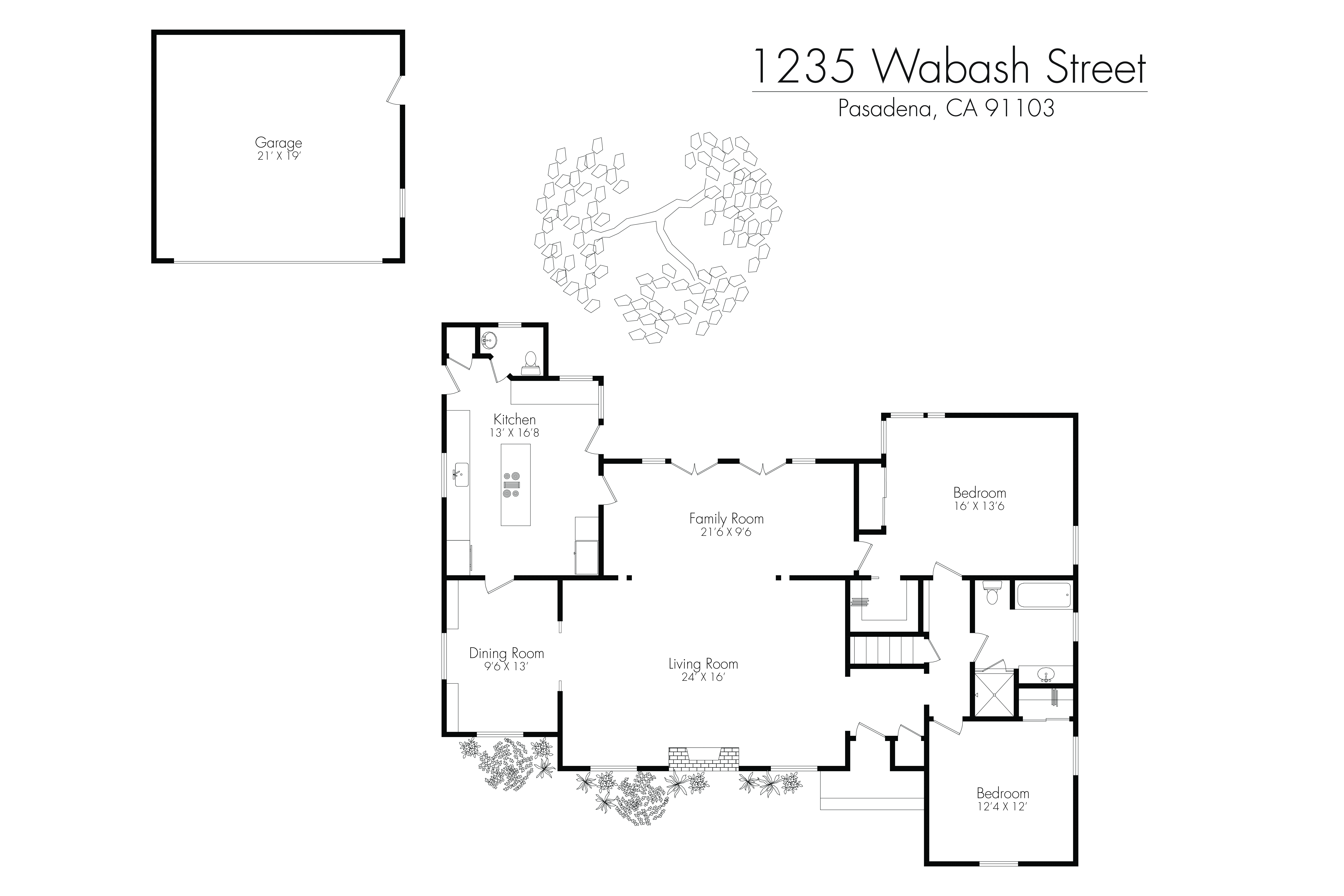 Floor plans the pasadena 2 bed 2 bath apartment in for Pasadena floors