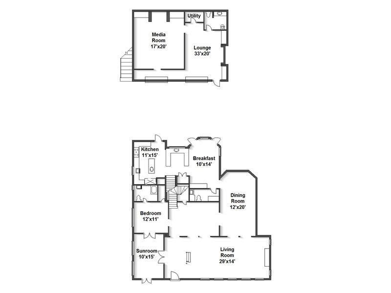 1920 Art Deco House Plans