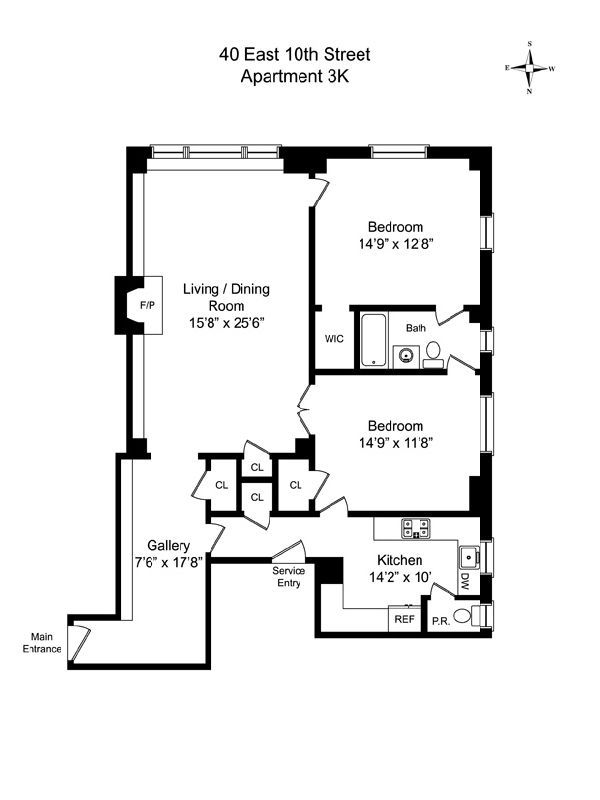 40 East 10th ST.