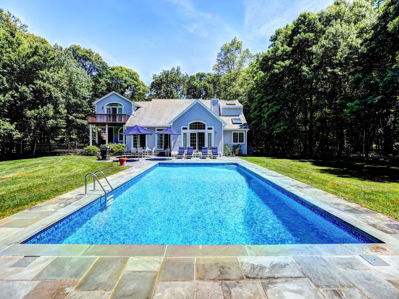 Conveniently Located Post Modern, Southampton NY Single Family Home - Hamptons Real Estate