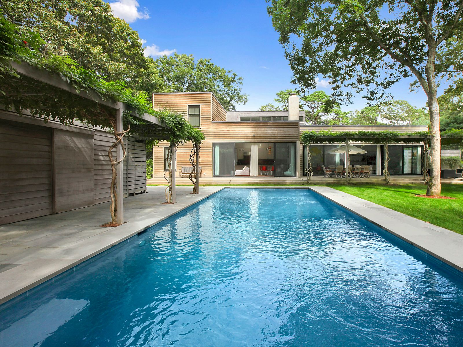 The Best of Clean Modern Design, Wainscott NY Single Family Home - Hamptons Real Estate