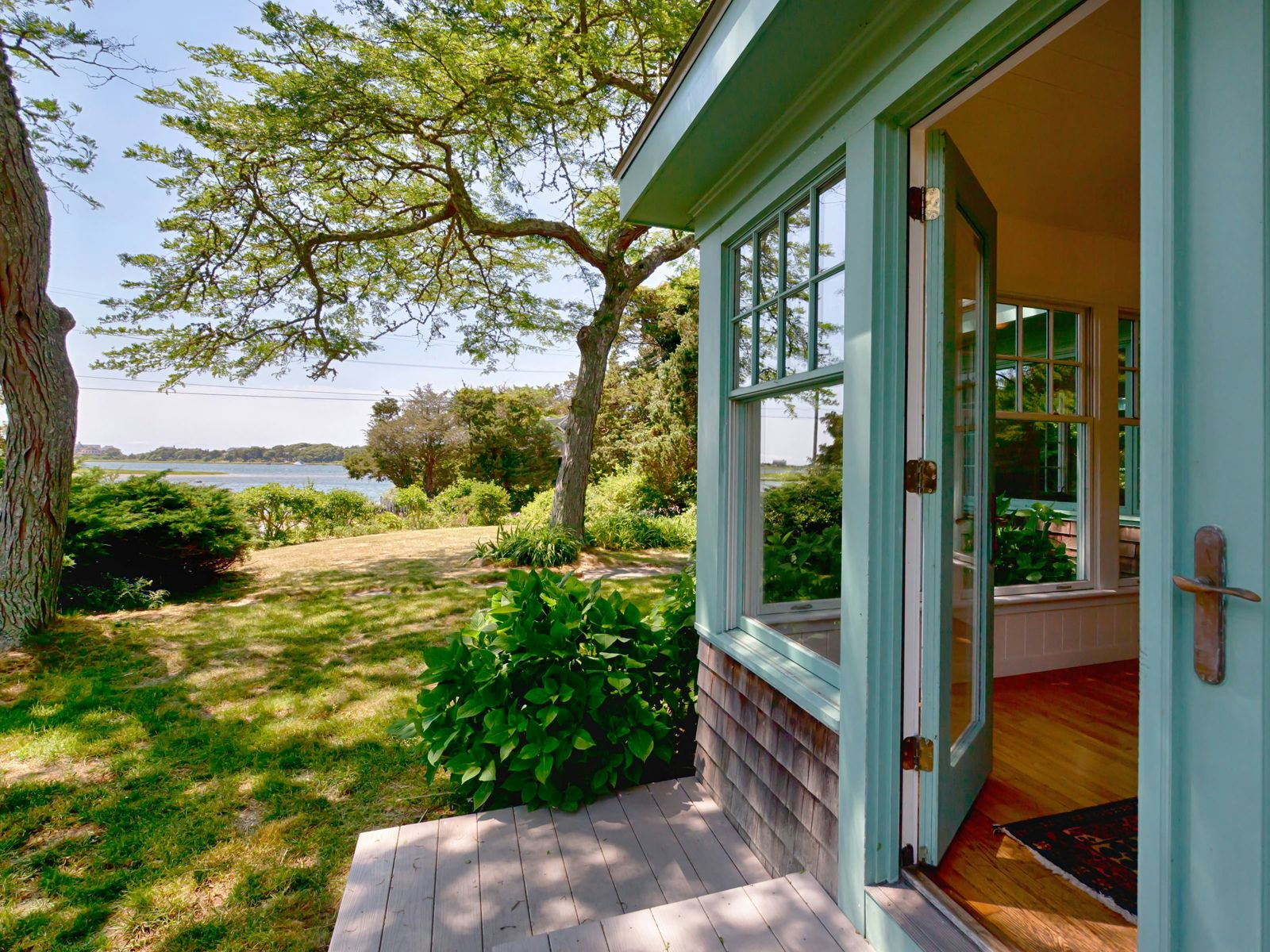 Quintessential Cape with Water Views, Falmouth MA Single Family Home - Cape Cod Real Estate