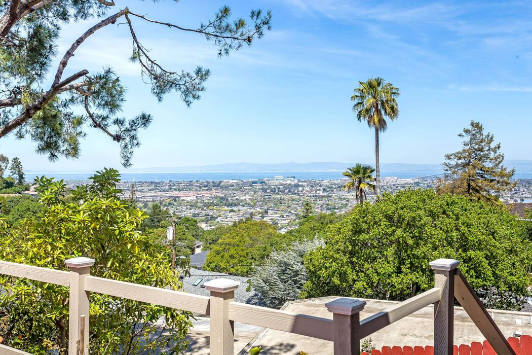 Belmont Home with Panoramic Bay Views  Belmont, CA 94002