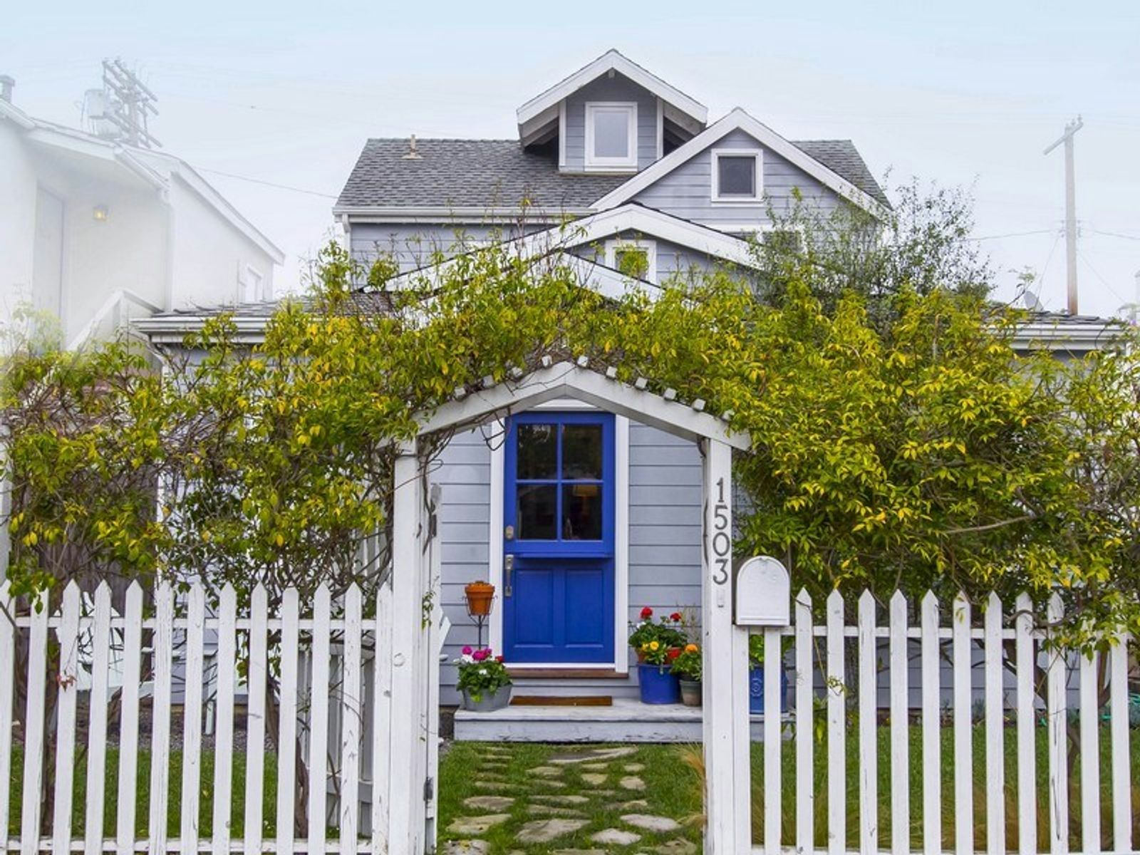 Two-Story Cape Cod Venice Beach House, Venice CA Single Family Home - Los Angeles Real Estate