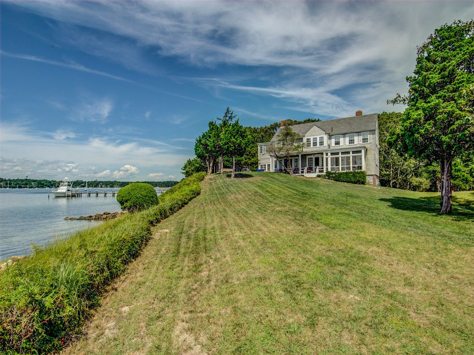 Oyster Harbors Waterfront, Osterville MA Single Family Home - Cape Cod Real Estate