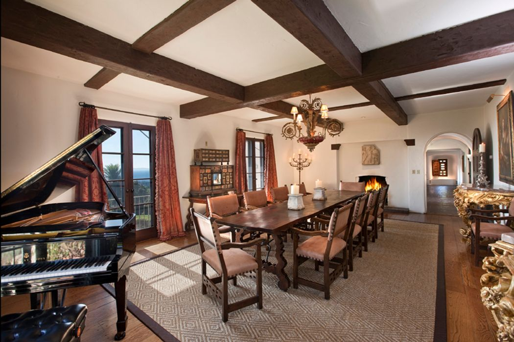 Montecito Italian Villa Estate Montecito Ca 93108 Sotheby S International Realty Inc