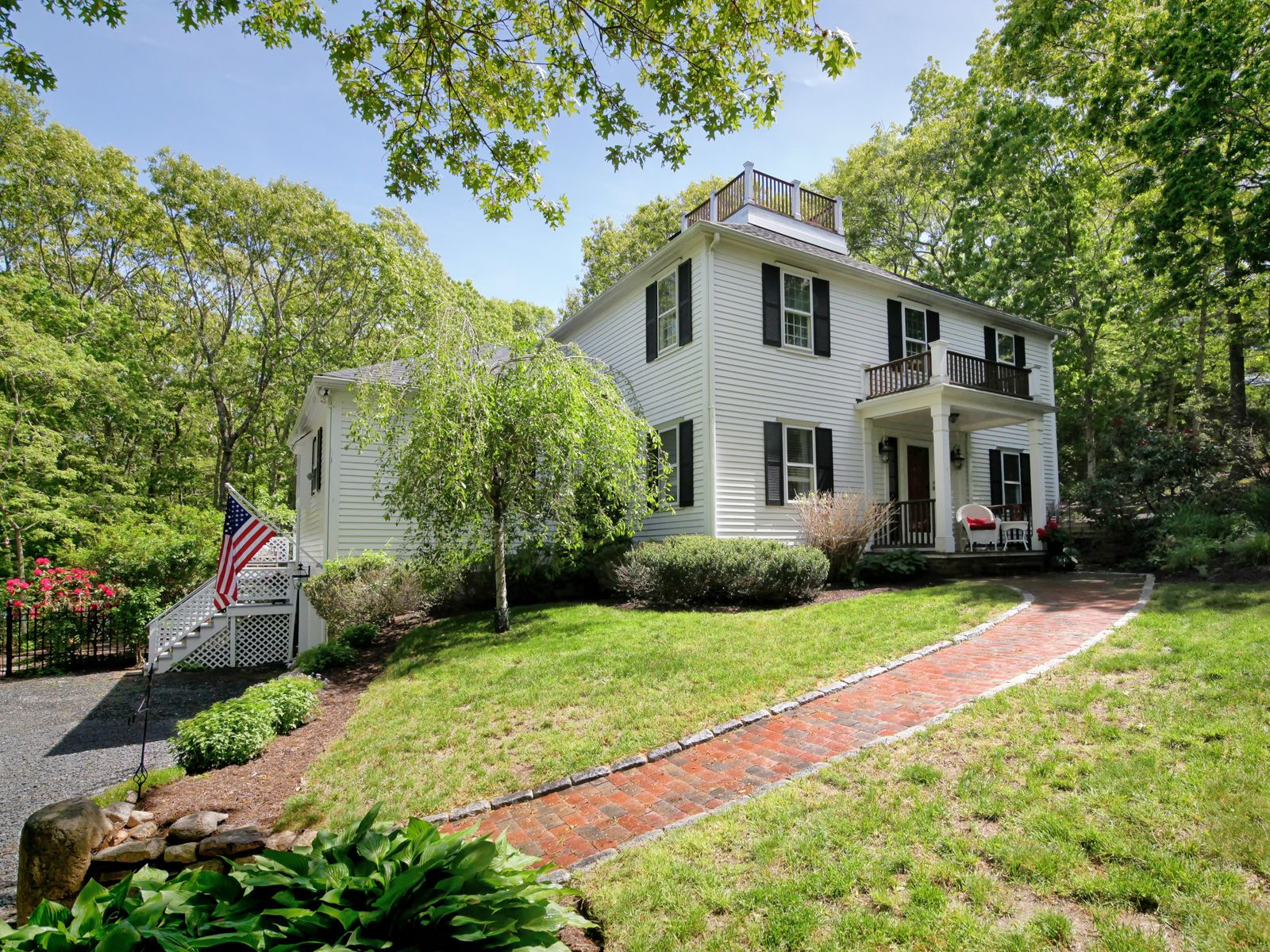 Pristine Hip Roof Colonial Near Beaches, East Sandwich MA Single Family Home - Cape Cod Real Estate