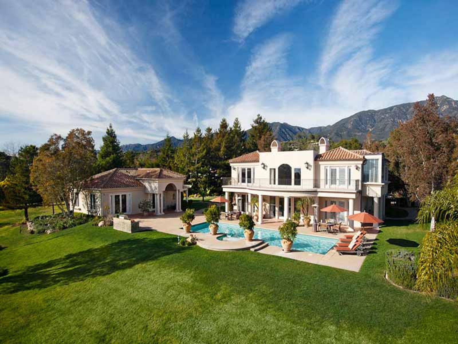 Elegant ocean view home carpinteria ca single family home for Real estate in carpinteria ca