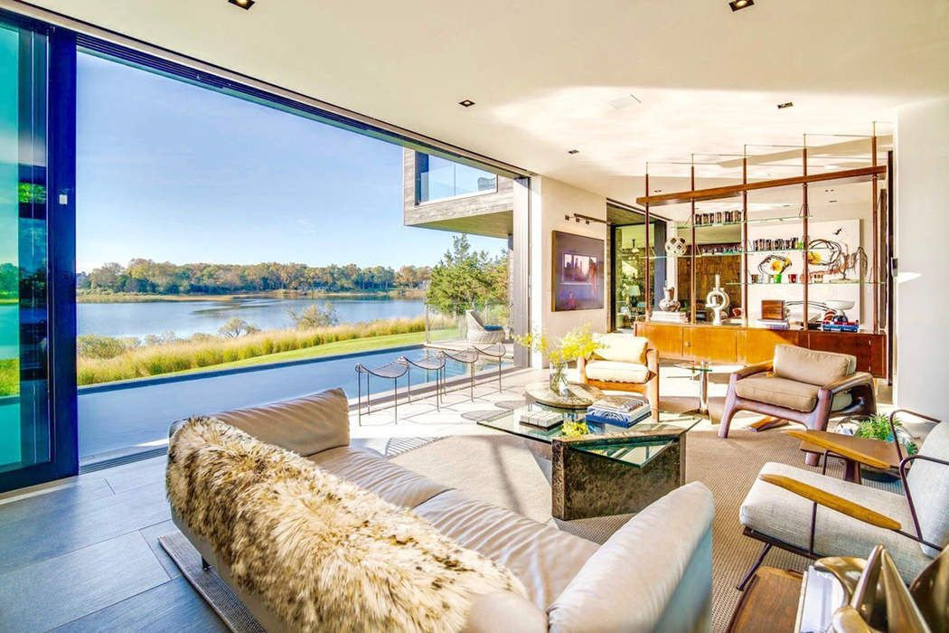 Spectacular Modern on North Haven Bay