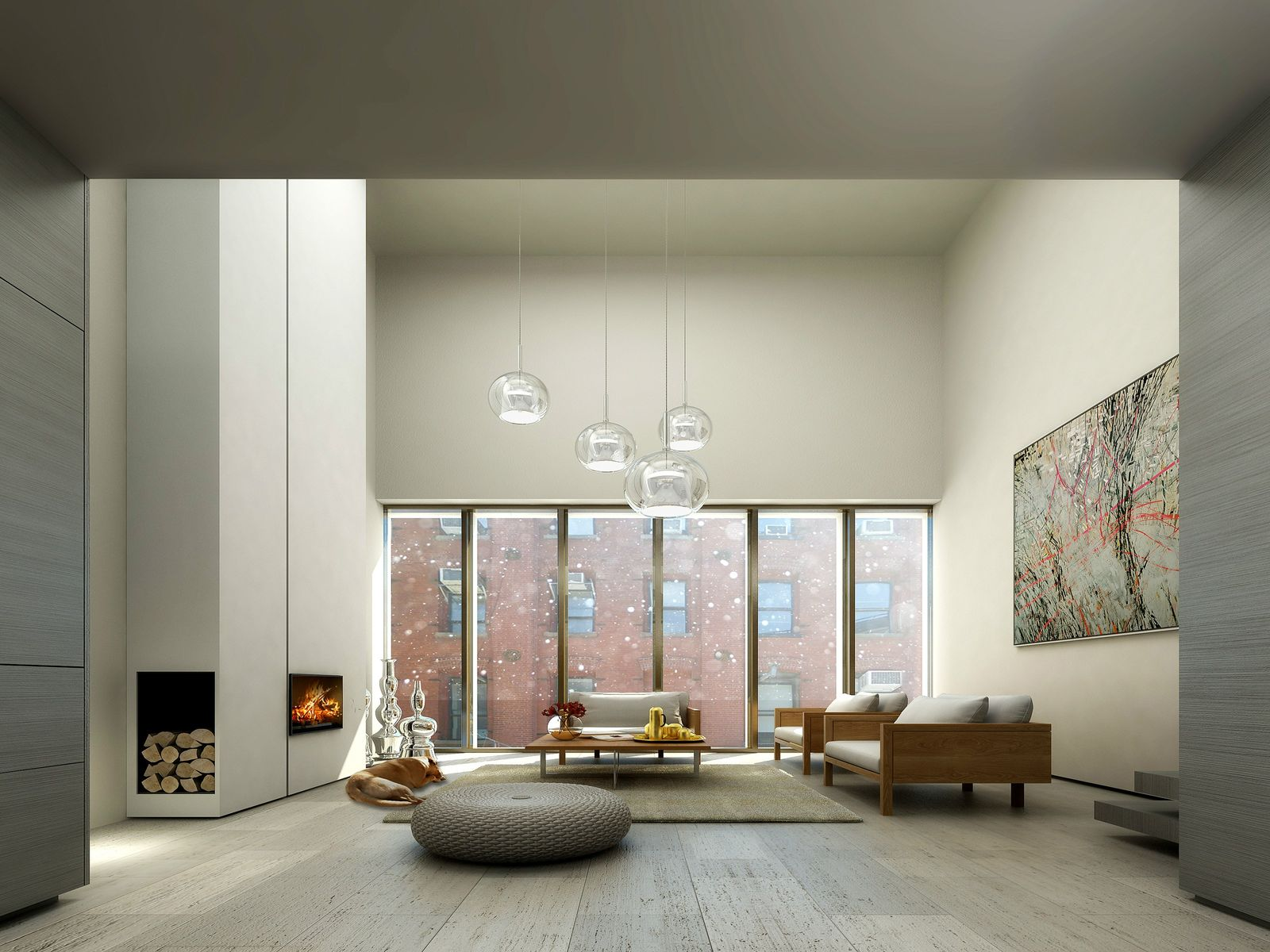Dumbo Contemporary Townhouse w/ Parking, Brooklyn NY Townhouse - New York City Real Estate