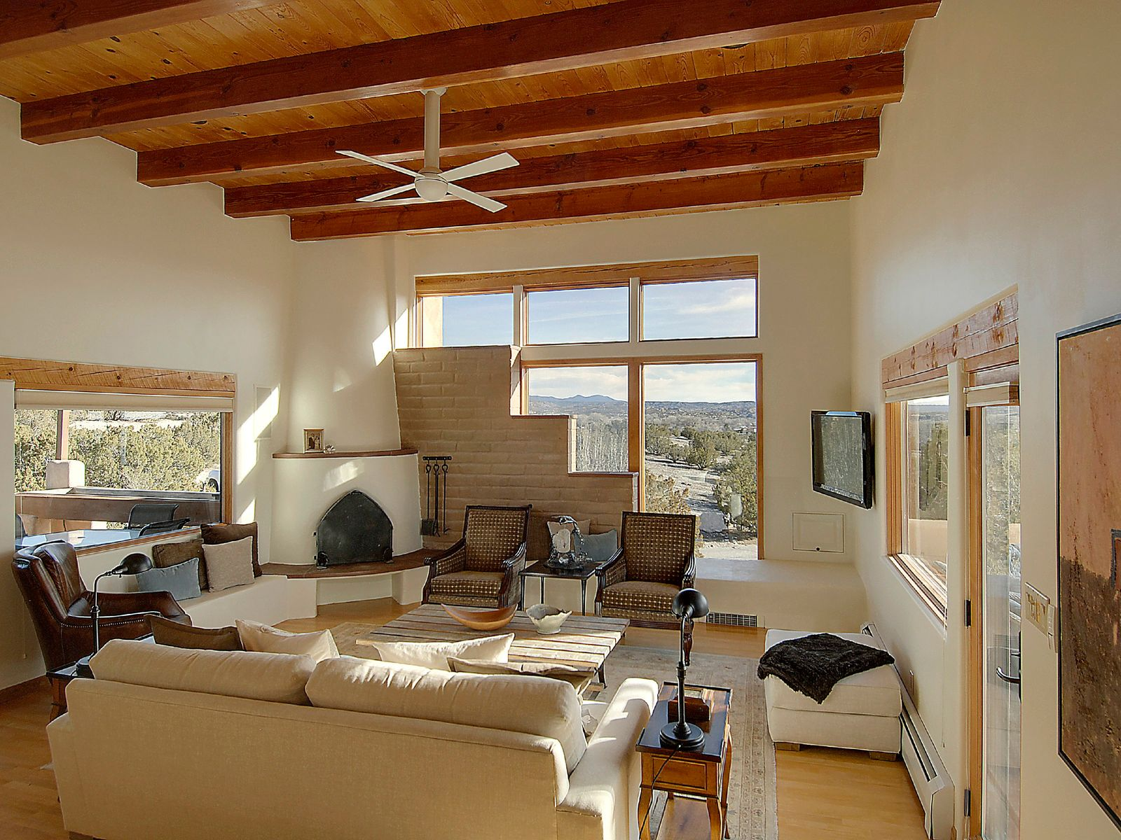 36 Loma Blanca, Santa Fe NM Single Family Home - Santa Fe Real Estate
