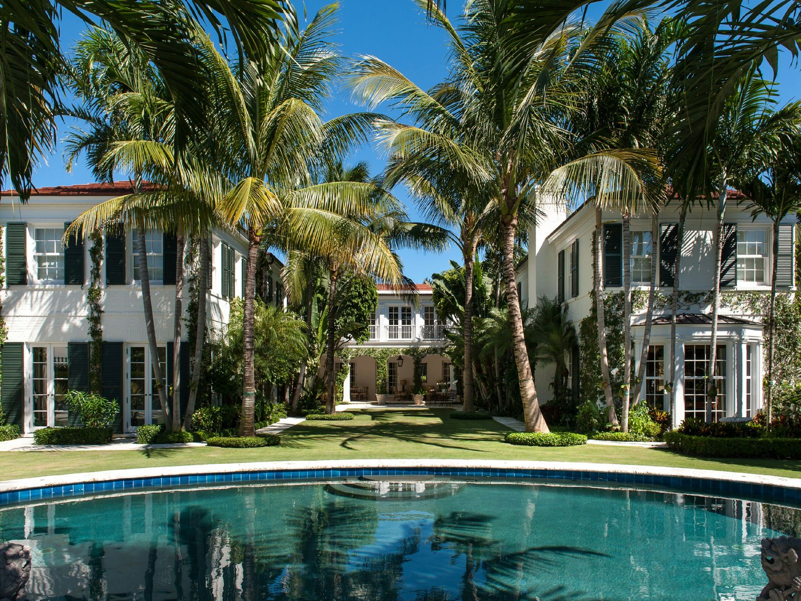 Oceanfront Estate, Palm Beach FL Single Family Home - Palm Beach Real Estate