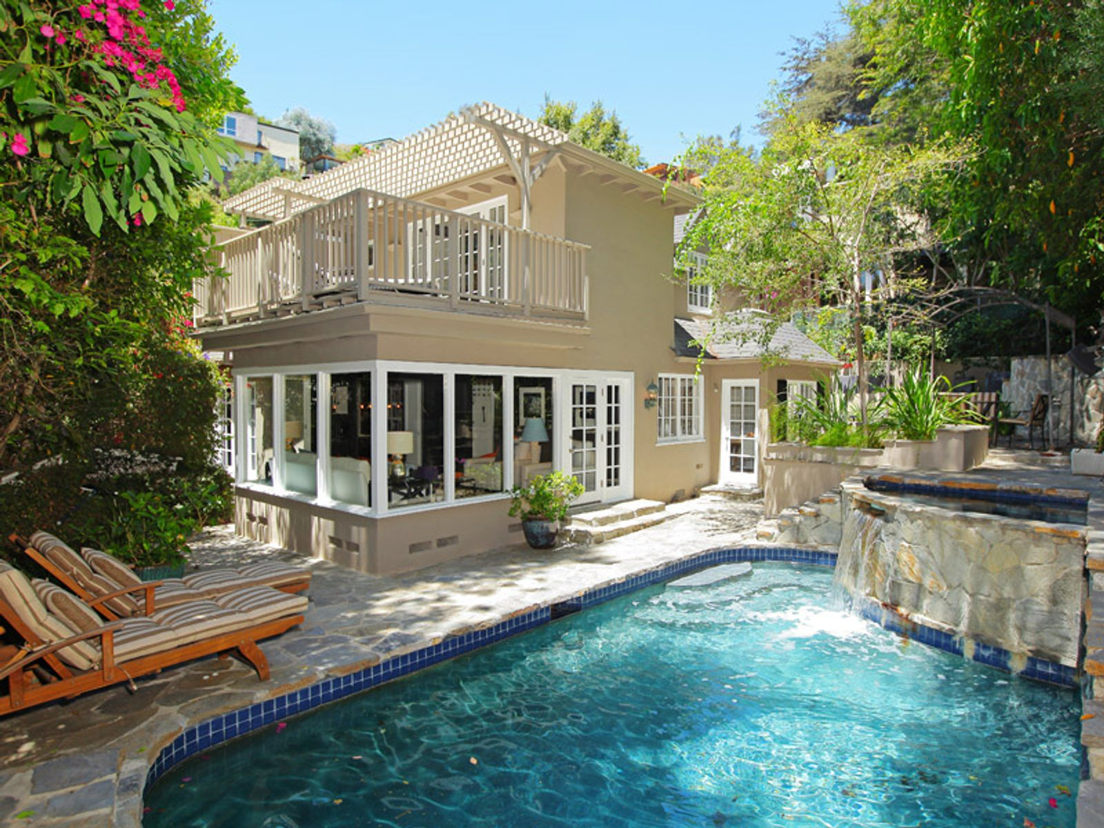 Prime Hollywood Hills Jewel, West Hollywood CA Single Family Home - Los Angeles Real Estate