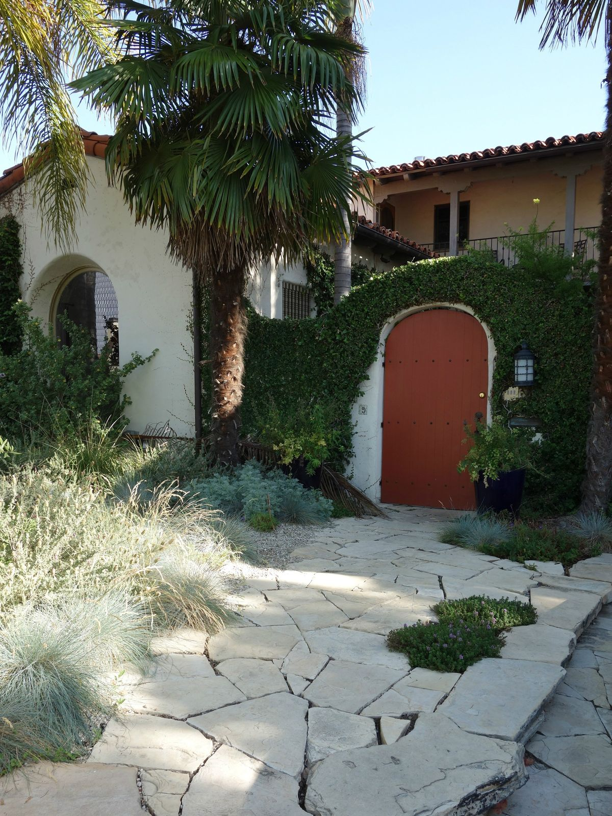 Authentic Courtyard Spanish
