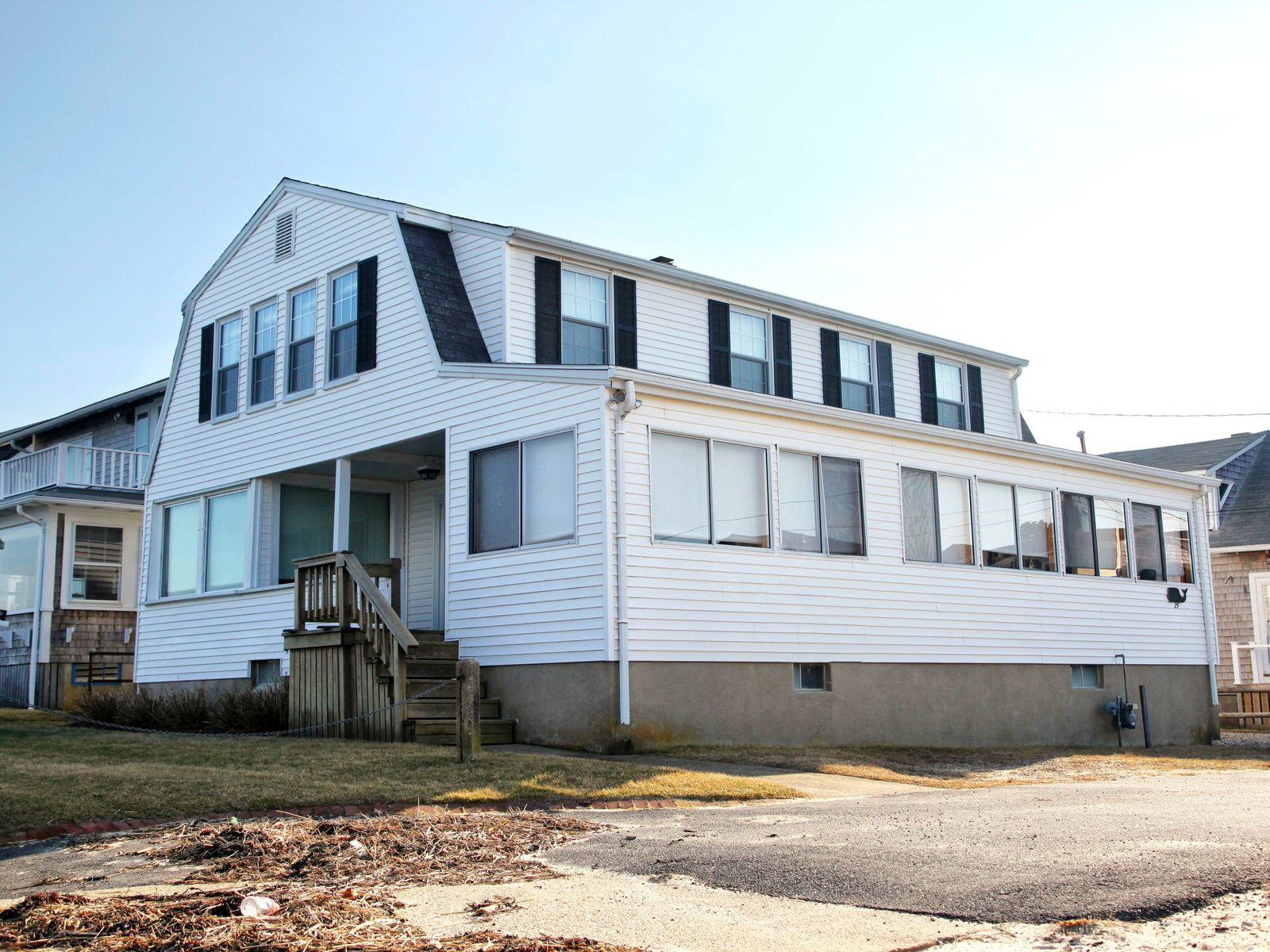 Classic Ocean View Beach House Bourne Ma Single Family