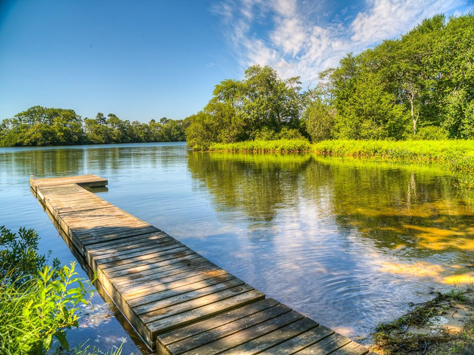 Extraordinary Private Cove, Beach & Dock, Centerville MA Single Family Home - Cape Cod Real Estate