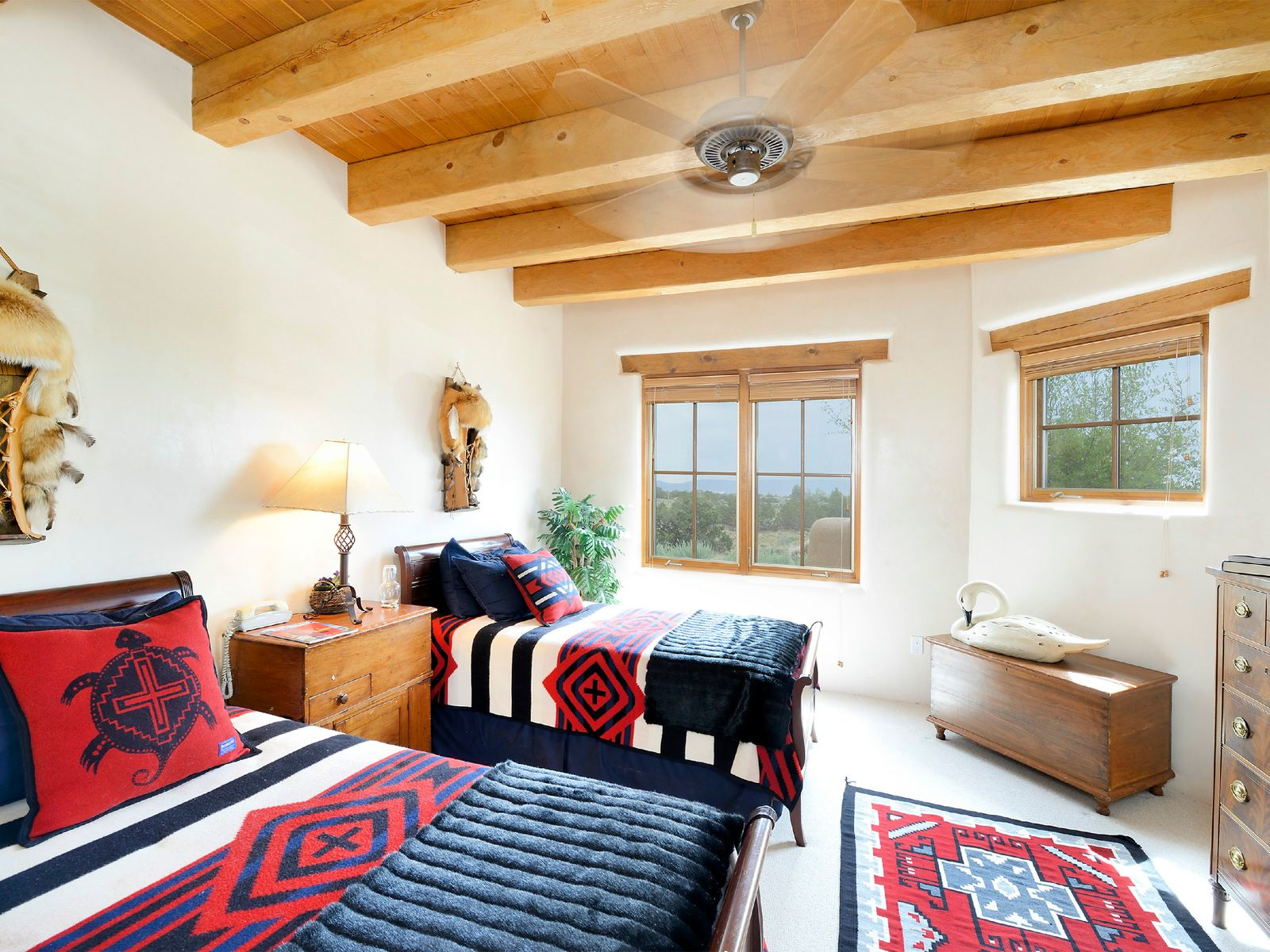 Guest Bedroom with Jemez Mountain View