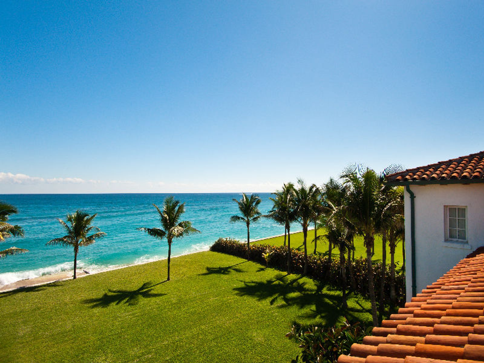 Mizner's Louwana Oceanfront Masterpiece, Palm Beach FL Single Family Home - Palm Beach Real Estate