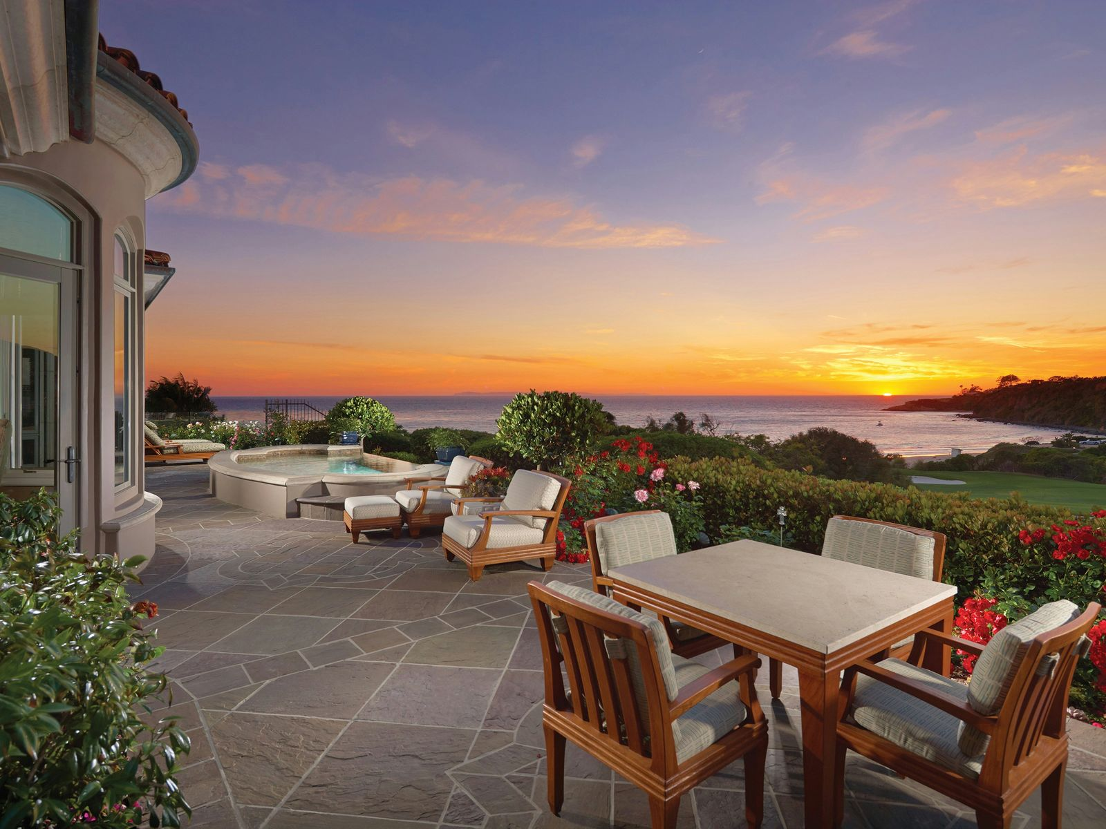 Spectacular Oceanfront Residence, Dana Point CA Single Family Home - Los Angeles Real Estate