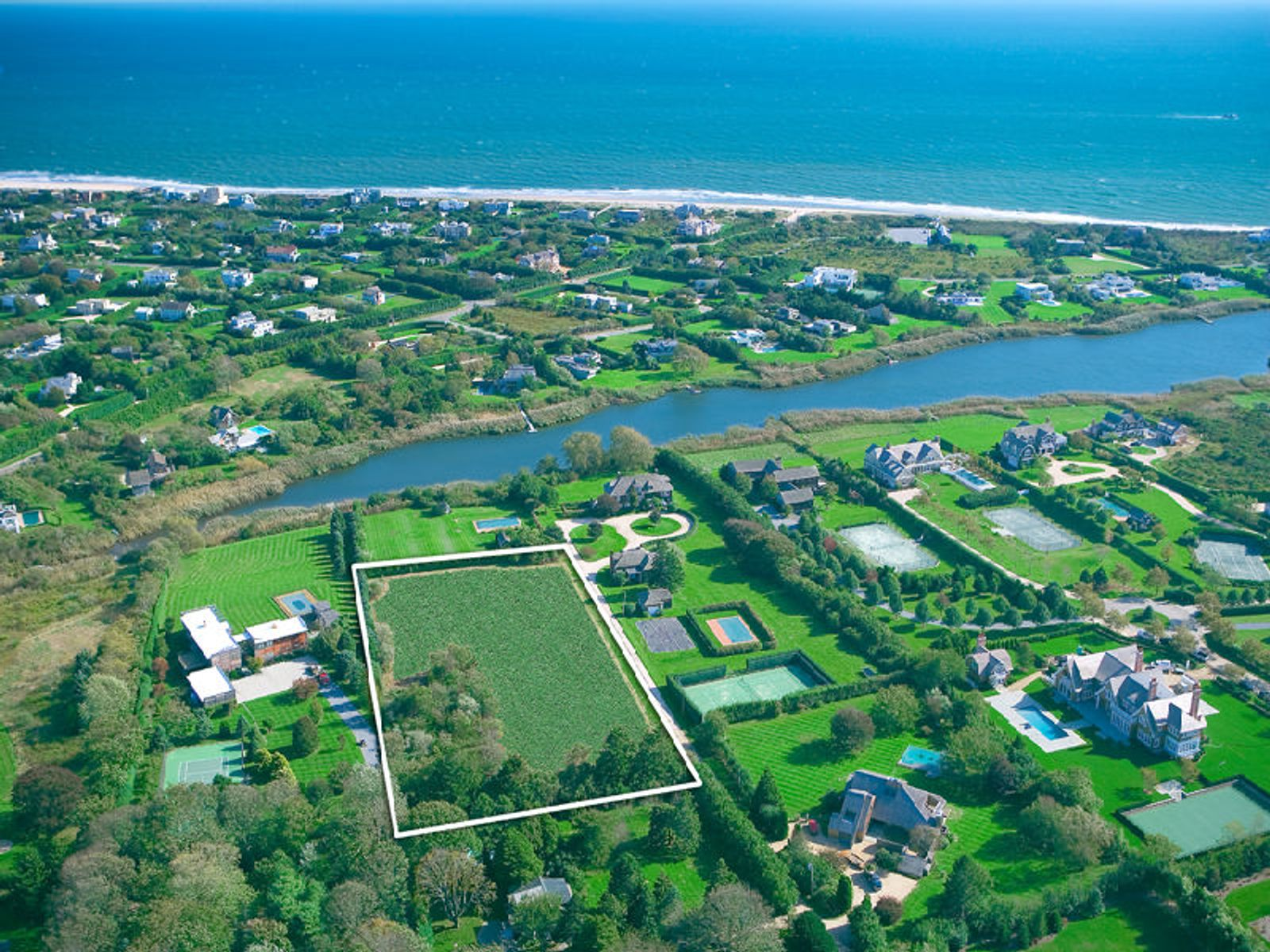 Bridgehampton South, Bridgehampton NY Acreage / Lots - Hamptons Real Estate
