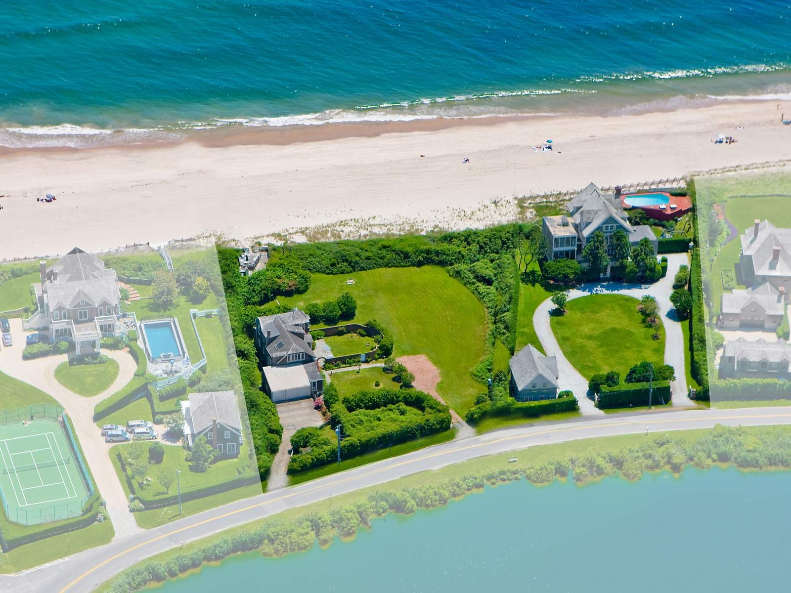 Prime Gin Lane Oceanfront, Southampton NY Single Family Home - Hamptons Real Estate