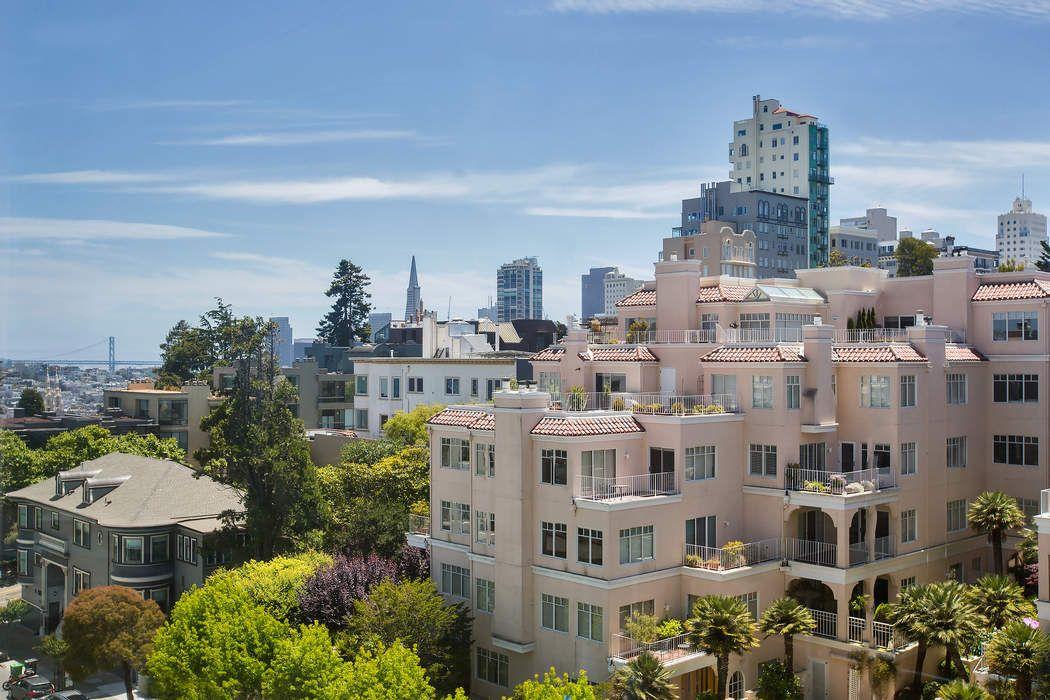Bay & City Views on Russian Hill San Francisco, CA 94109