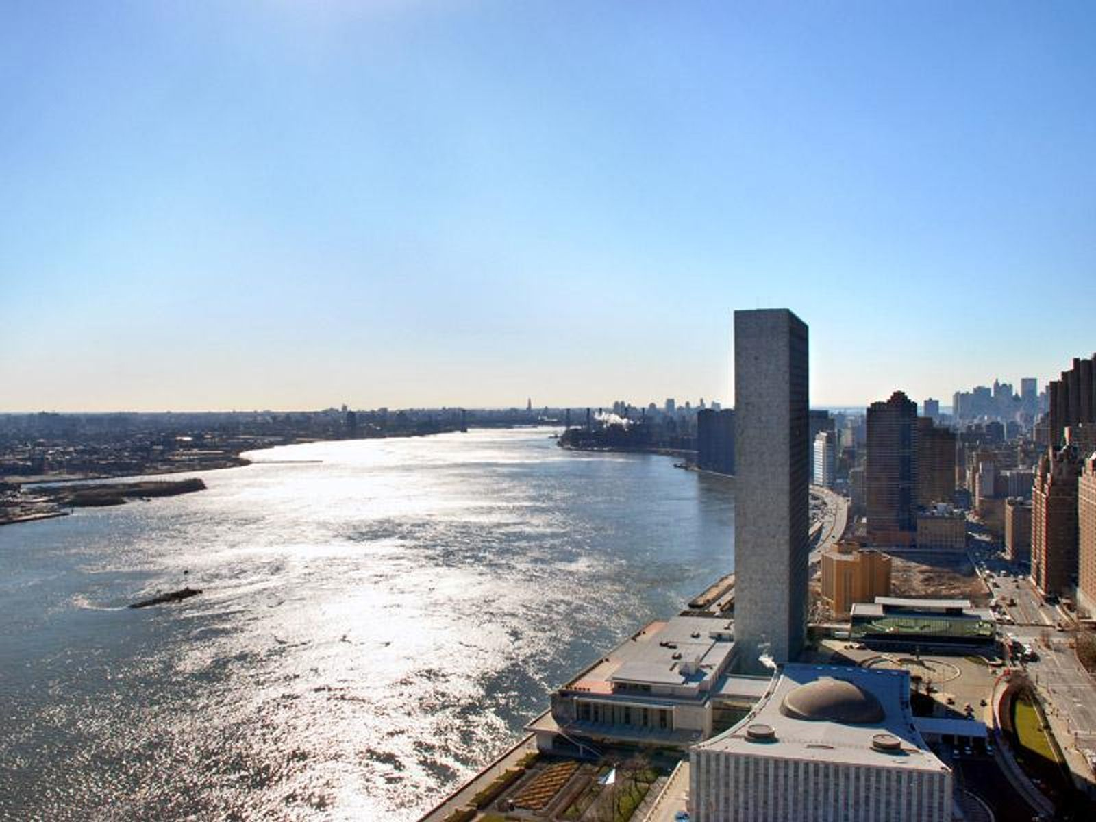 East River and 49th Street