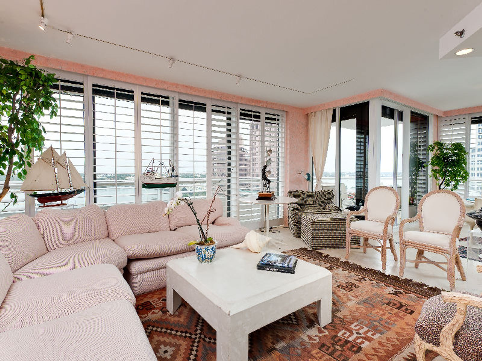 Trump Plaza Unique Double Apartment, West Palm Beach FL Condominium - Palm Beach Real Estate