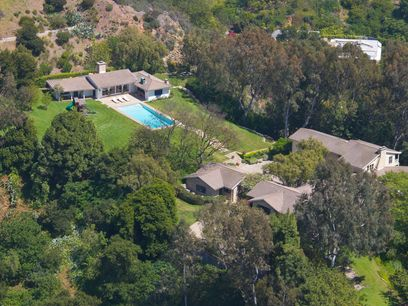 Prestigious Canyon Crest, Beverly Hills CA Single Family Home - Los Angeles Real Estate