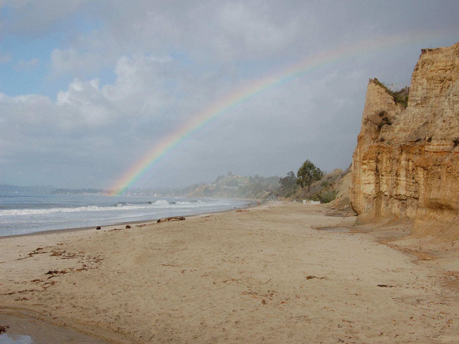 Rainbow at Loon Point