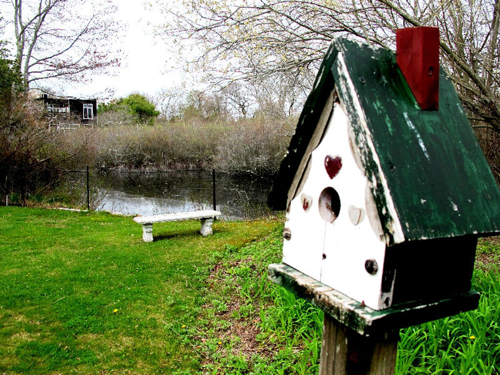 Water Mill On The Pond