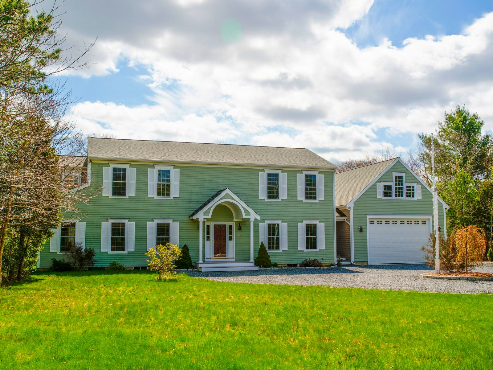 Pristine Waterfront Colonial, Marstons Mills MA Single Family Home - Cape Cod Real Estate