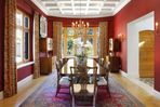 Spacious formal dining room.