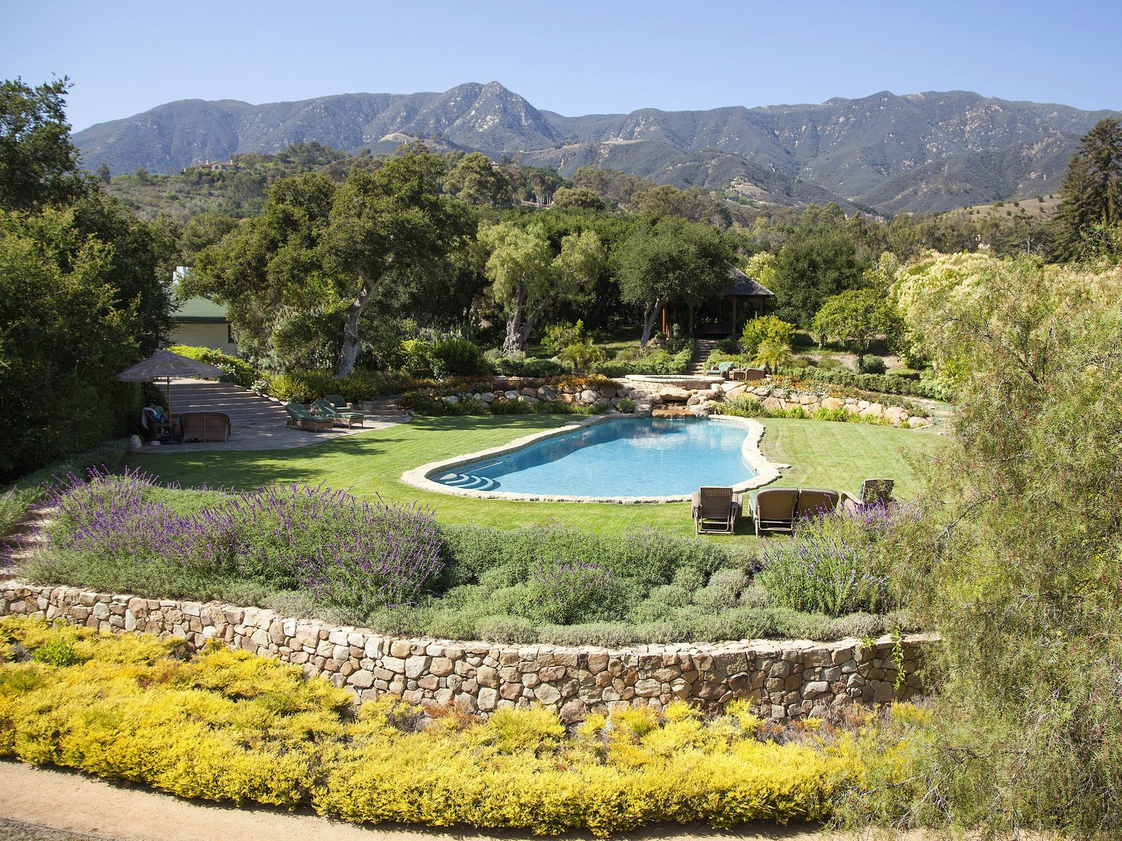 Designer's Vintage Farm Restoration, Montecito CA Ranch / Farm - Santa Barbara Real Estate