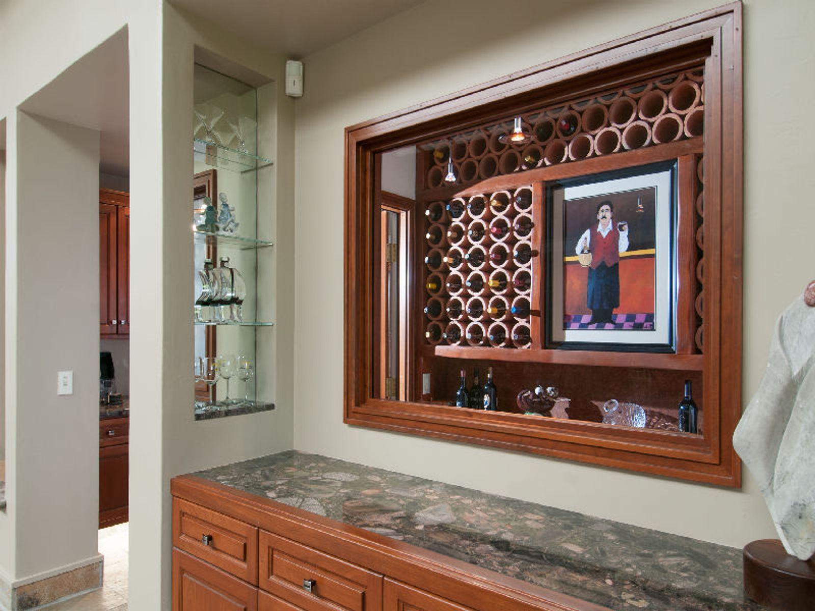 Temperature Controlled Wine Room