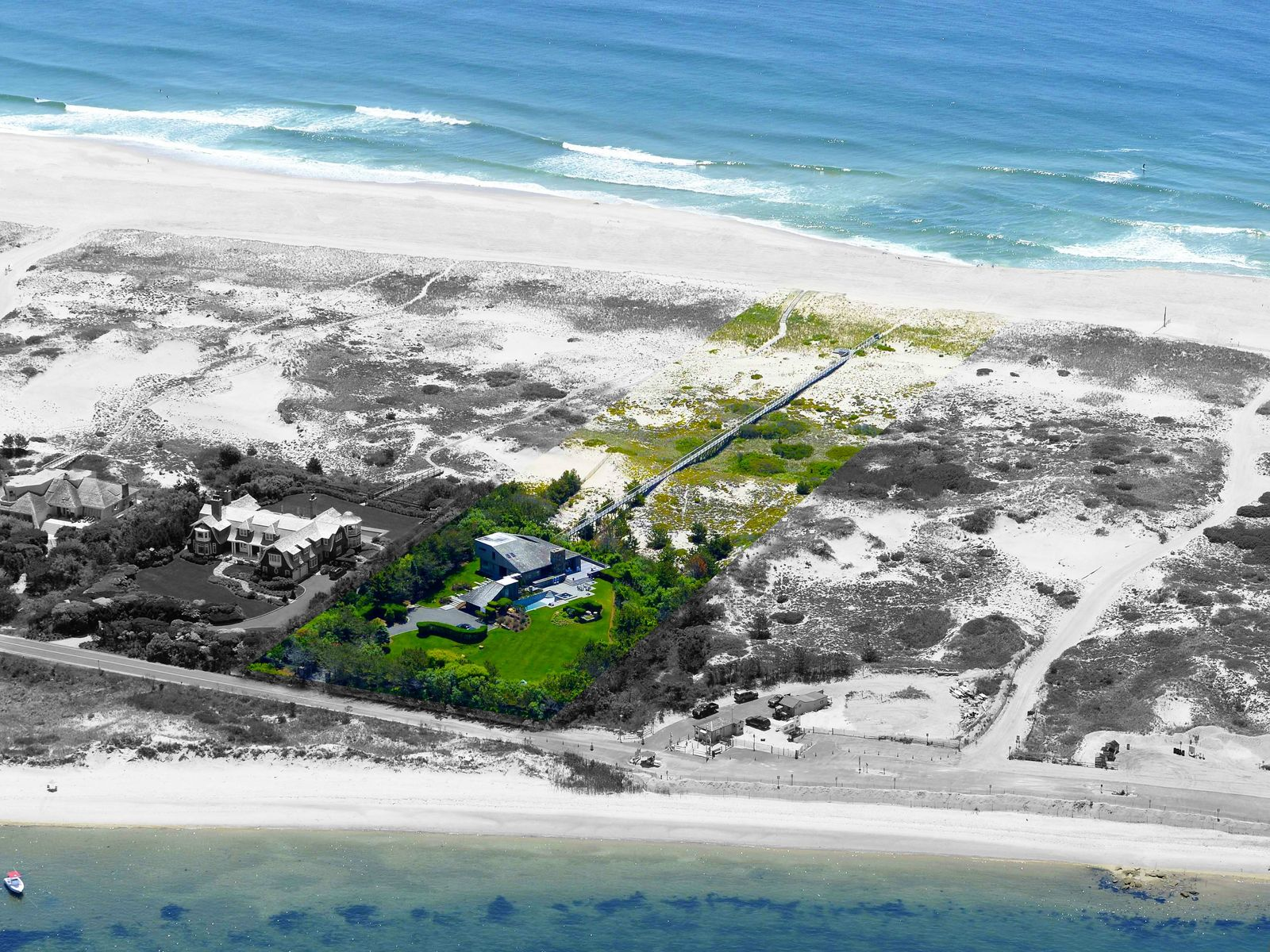 Panoramic Oceanfront - Meadow Lane, Southampton NY Single Family Home - Hamptons Real Estate
