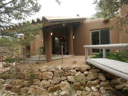 1404 Tesuque Creek Road, Santa Fe NM Single Family Home - Santa Fe Real Estate