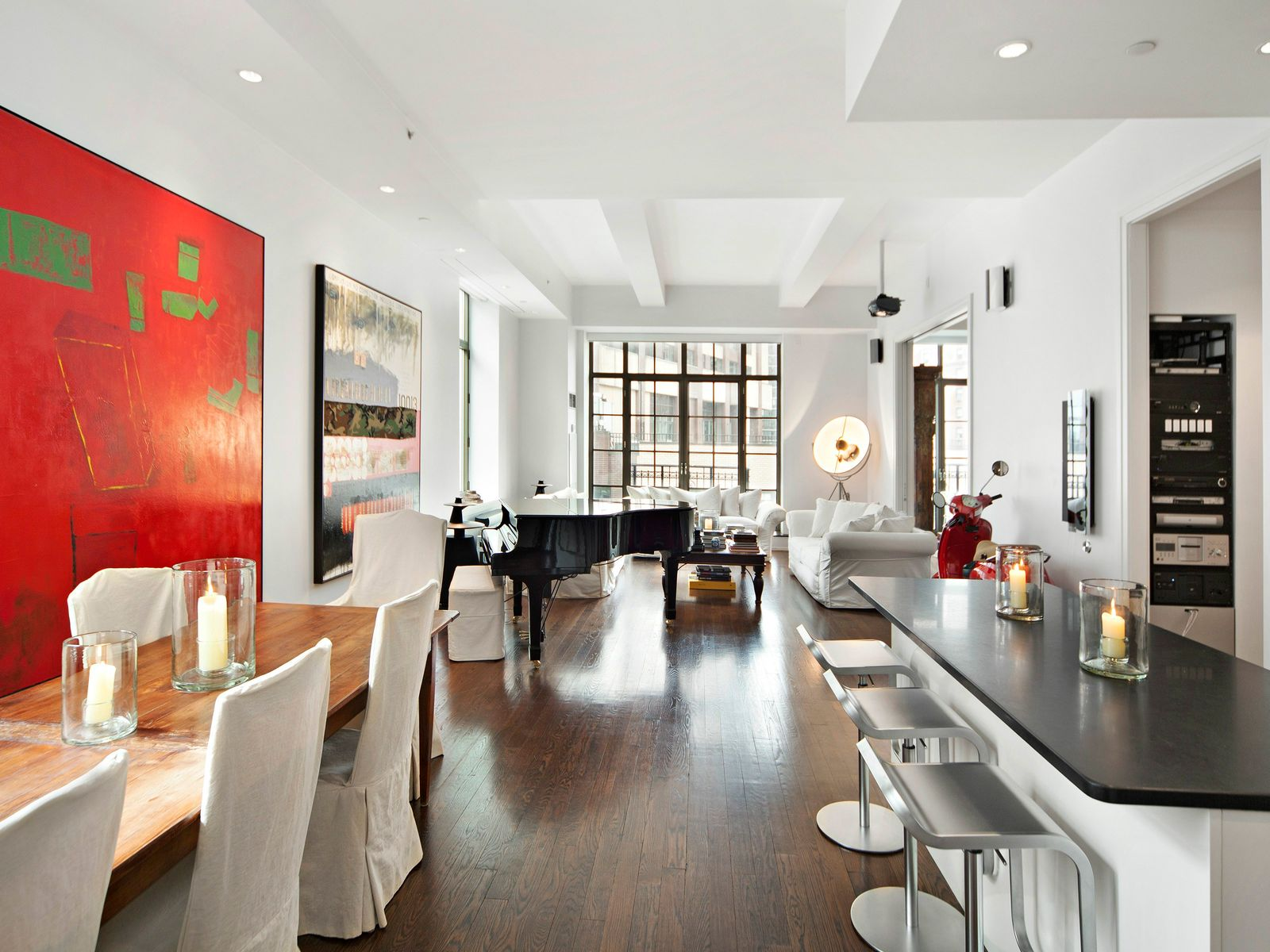 Luxury Loft in Lincoln Center, New York NY Condominium - New York City Real Estate