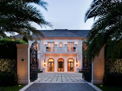 Lakefront Estate, Palm Beach FL Single Family Home - Palm Beach Real Estate