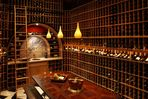 4,500+ bottle temperature controlled wine cellar.