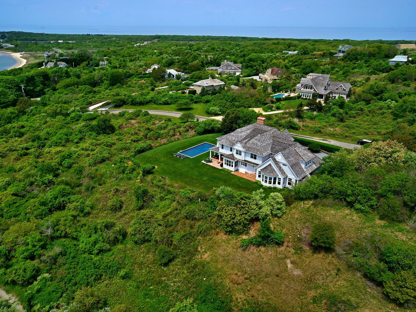 Forever Views of Lake Montauk , Montauk NY Single Family Home - Hamptons Real Estate
