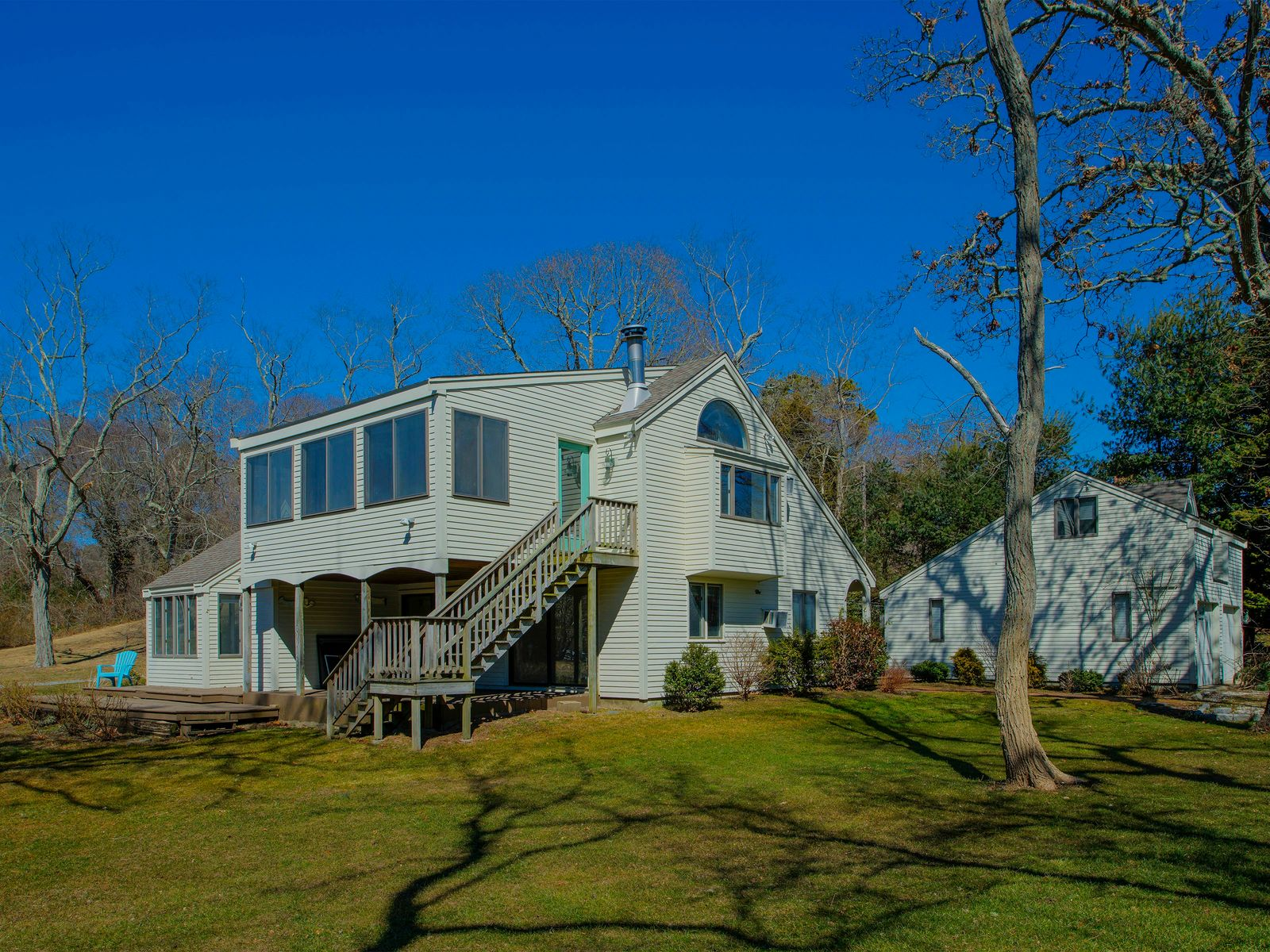 Compelling Lake Views with Deeded Beach, Centerville MA Single Family Home - Cape Cod Real Estate