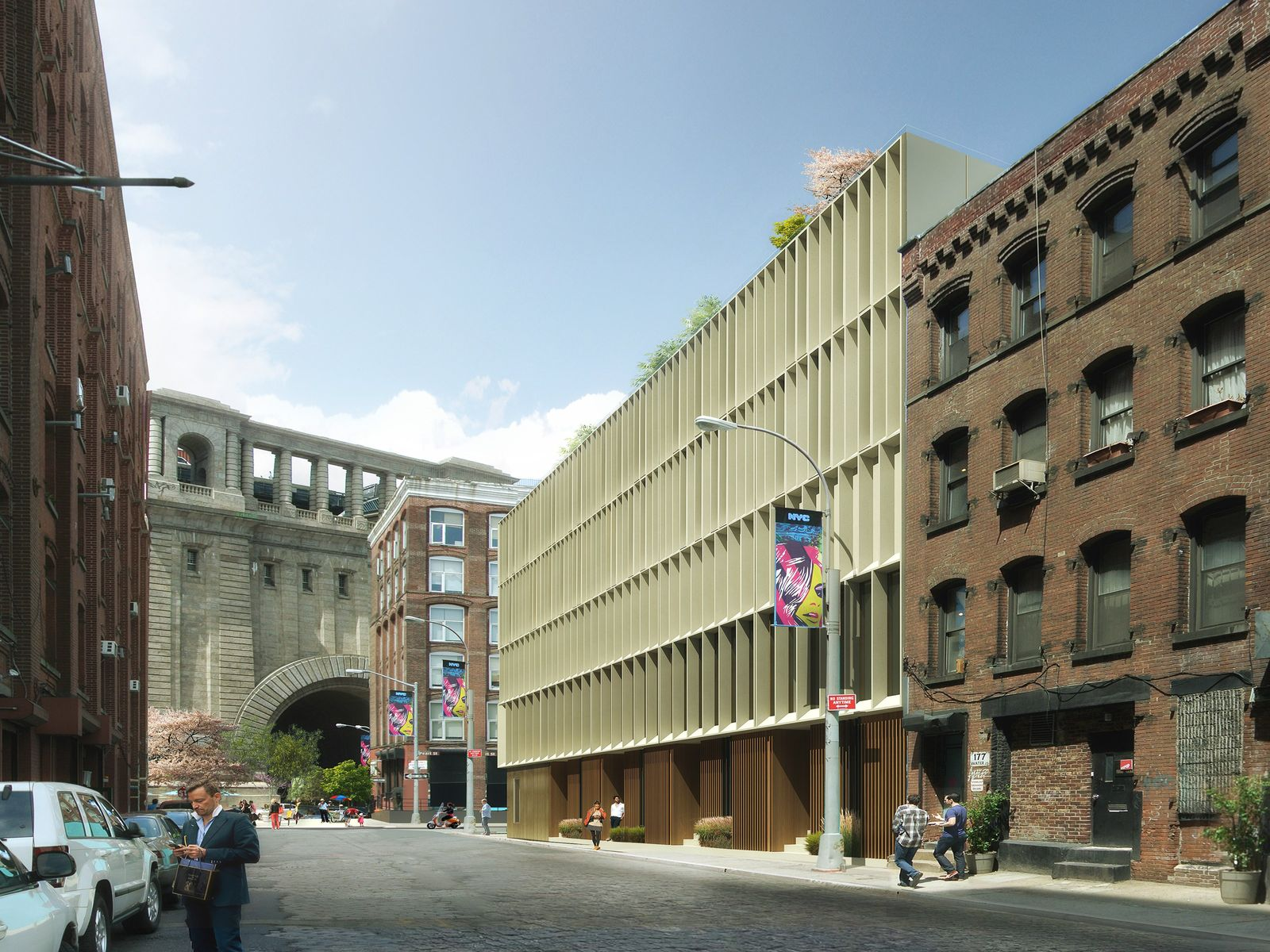 Dumbo's Contemporary Townhouses
