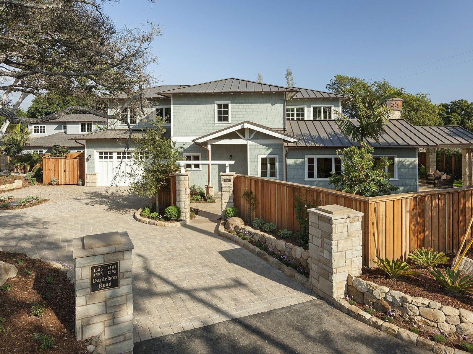 New Custom Montecito Beach Cottage
