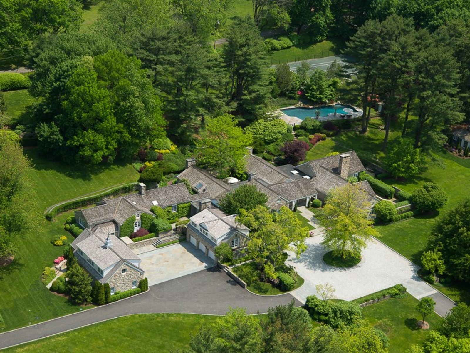 Private Country Estate, Greenwich CT Single Family Home - Greenwich Real Estate
