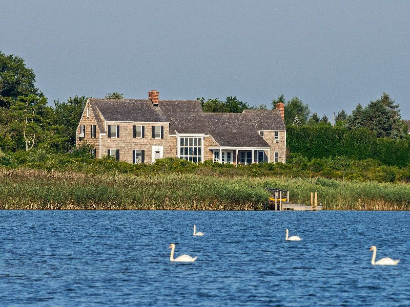 Exquisite Sagg Pond Frontage Waterfront