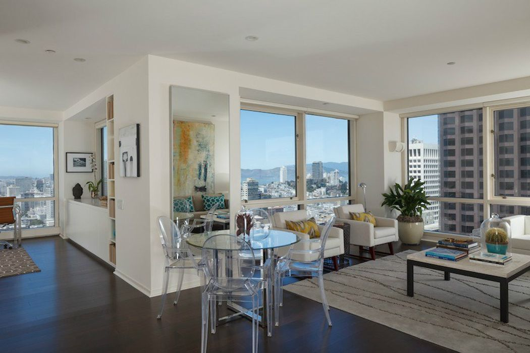 FiDi Condo with Golden Gate Bridge Views