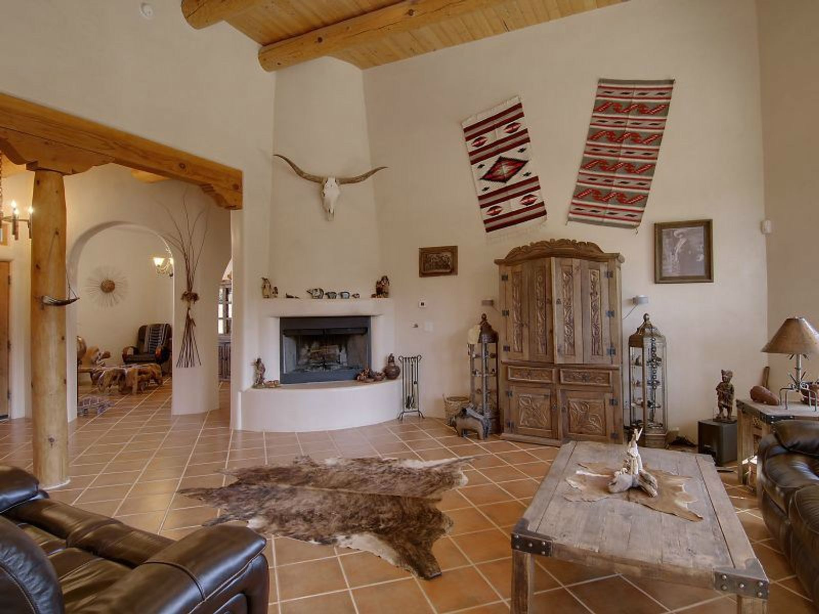 121 Rito Guicu, Santa Fe NM Single Family Home - Santa Fe Real Estate